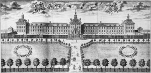 The hospital in 1676