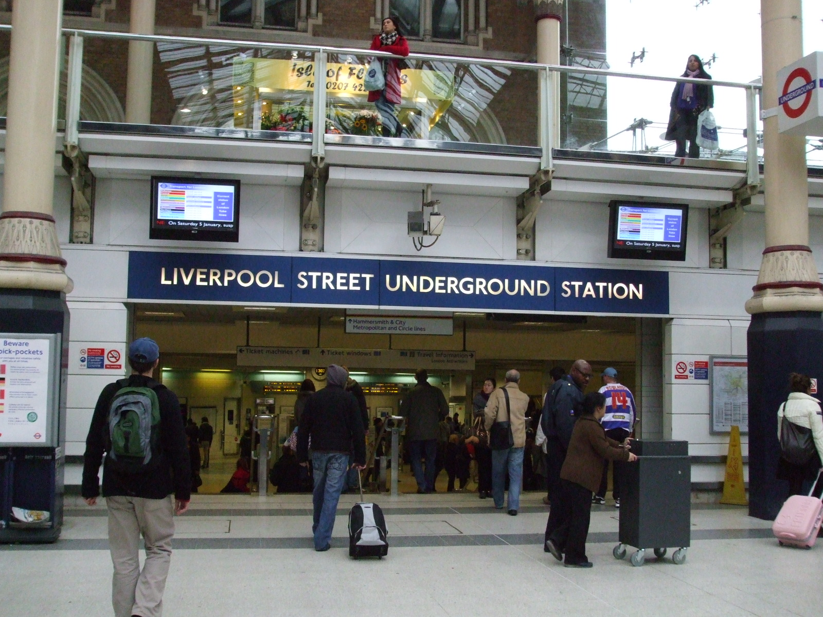Ghosts of Liverpool Street Station Unearthed?