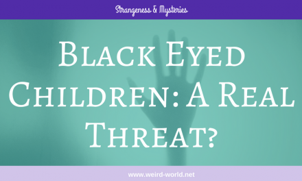 Black Eyed Children: A Real Threat?