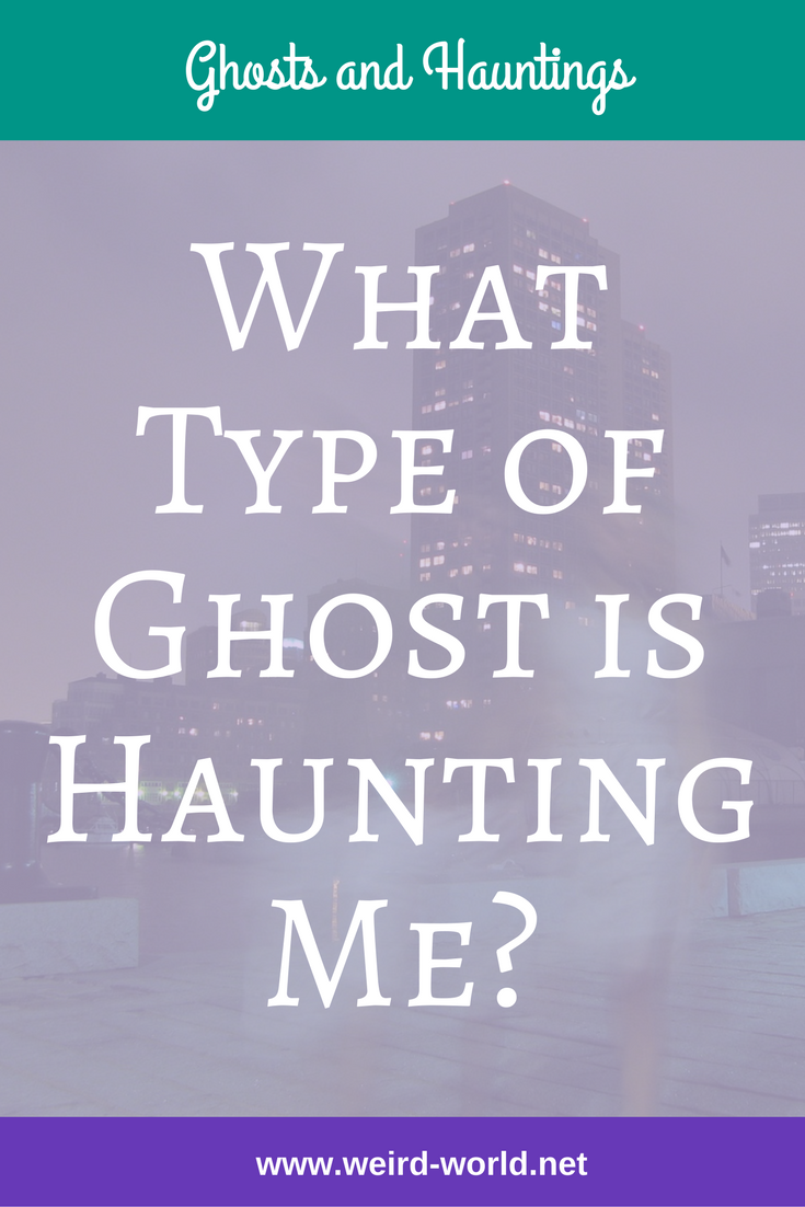 Ghosts are like people - there are all different types.  But how do you find out what type of ghost is haunting you?  Learn about residual hauntings, poltergeists and more.  Click to read about them