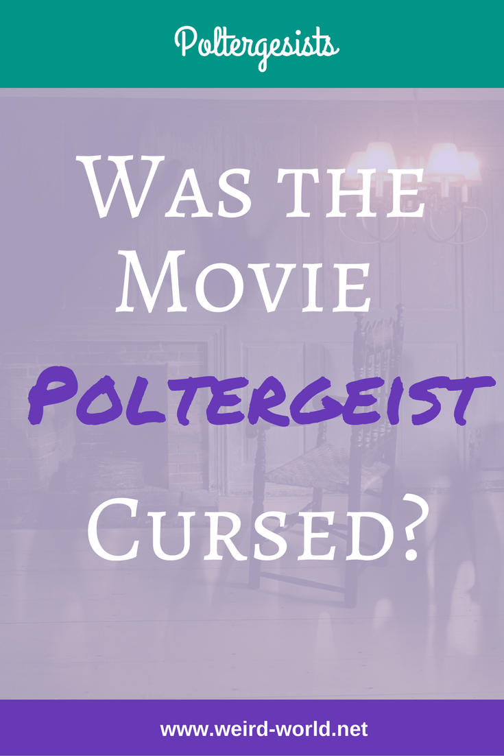 The original 'Poltergeist' movie was made in 1982 with sequels and remakes to follow.  But after the movie was made, stories of a curse started to surface.  While it might seem like clever promotion, when you look at the facts, it may not be a fantasy after all.  Click to read about the curse of the movie and its sequels. #poltergeist #poltergeistmovie #ghosts #hauntings