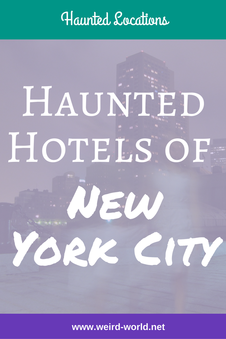 New York has no shortage of hotels and those hotels have no shortage of ghosts.  Here's a glimpse of the history and hauntings of some of New York City's most well known hotels #haunting #ghosts #nyc