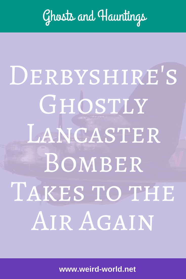 The Lancaster Bomber is one of the most famous historic bombers but it seems some of the craft don't want to retire when their flying days are done.  One famous one comes from the Derbyshire area and there are new reports of the phantom aircraft flying across its skies.  Click to read the full story #ghost #ghostplane #lancasterbomber #flyingghost