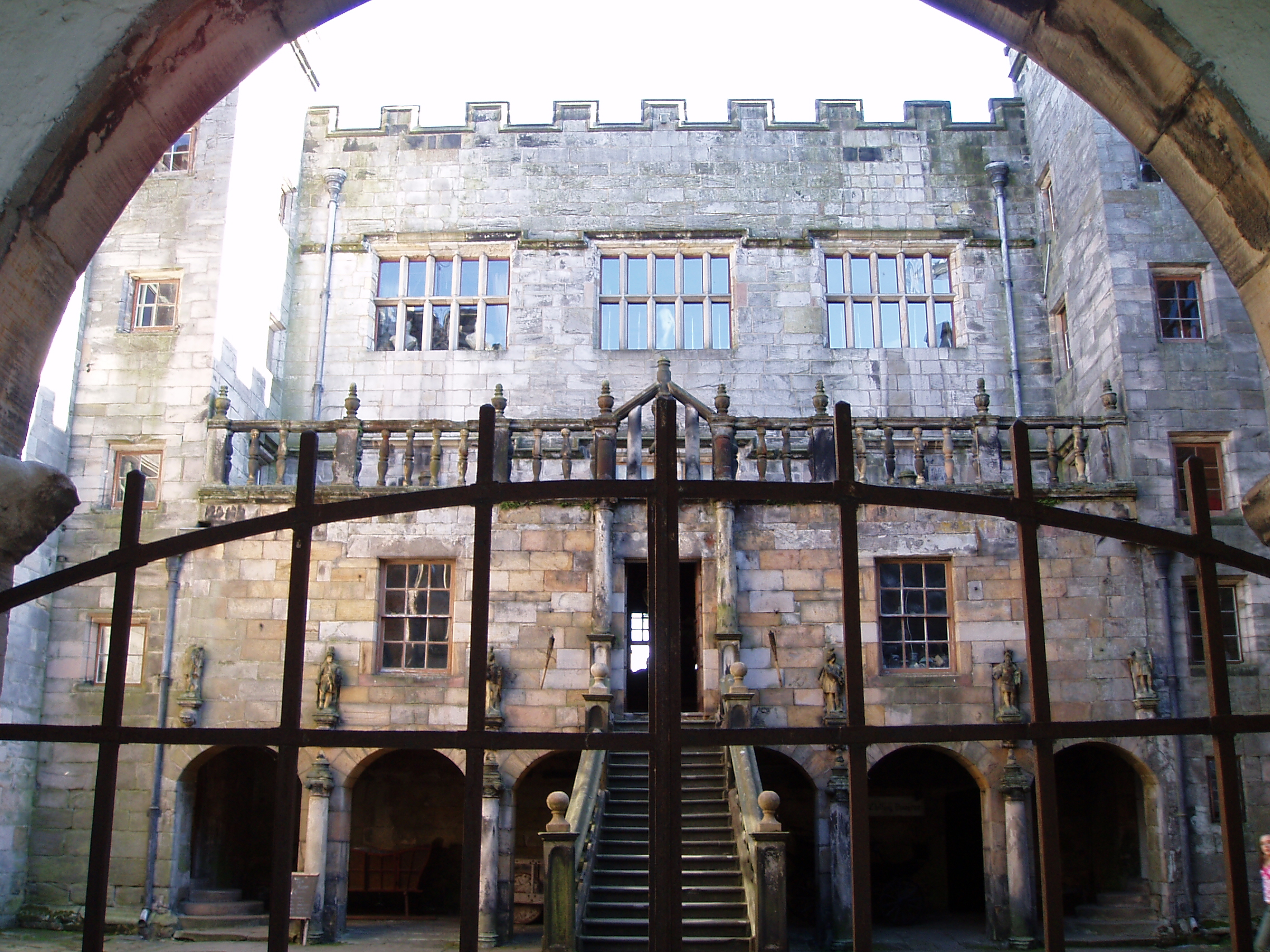 Chillingham Castle - haunted castles of Northumberland